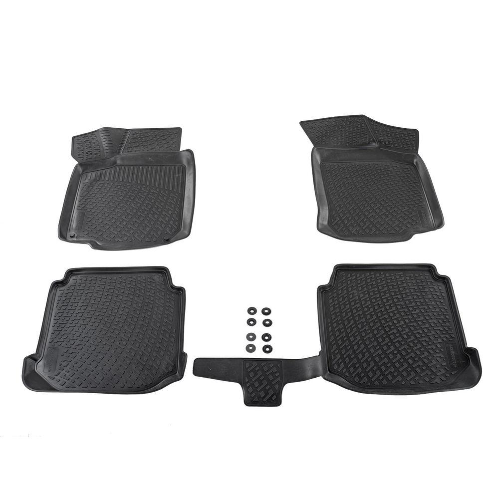 Fußmatten Gummimatten Hyundai I20 ab 2015 Automatten Autoteppiche