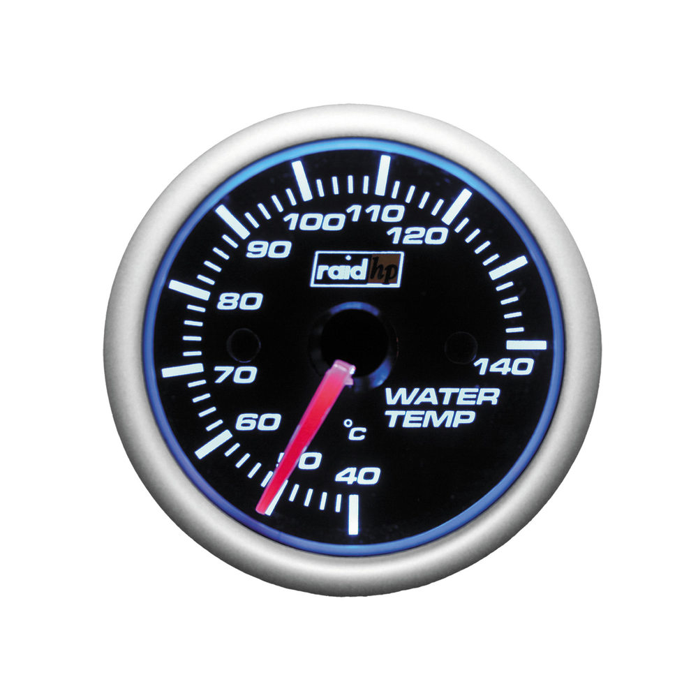 "Ladedruckanzeige Instrument 2/"" RAID Night Flight Rot Turbodruck Boost Amber Gaug"